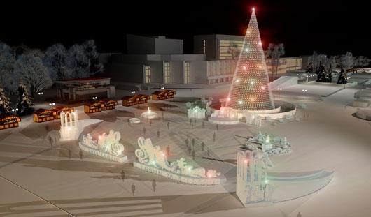 В Ижевске на ледяной городок потратят 2 миллиона 138 тысяч рублей