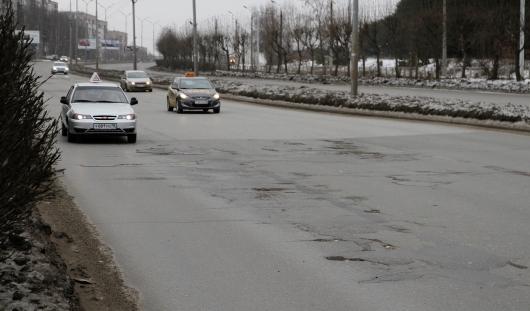 В Ижевске голосуют за участки дорог, которым необходим ремонт в 2015 году