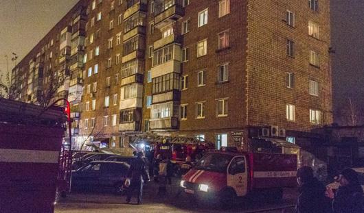 В Ижевске в квартире на улице Горького произошел пожар