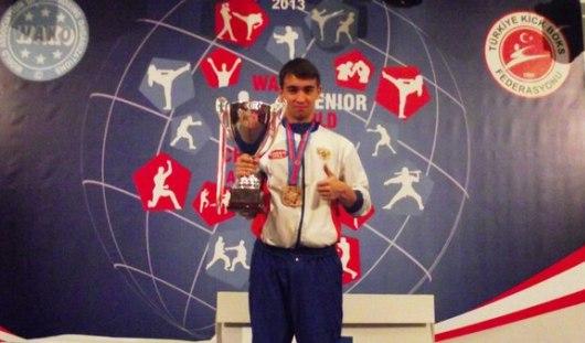 Студент из Ижевска стал чемпионом Европы по кикбоксингу
