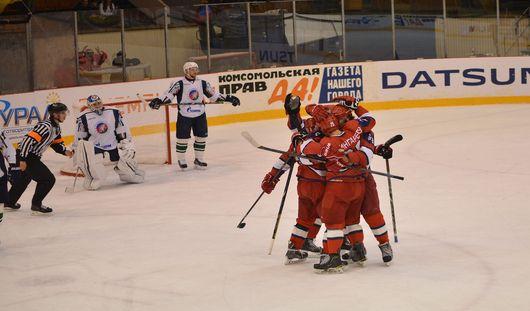 Хоккеисты Ижевска выиграли у нефтекамского «Тороса» в овертайме