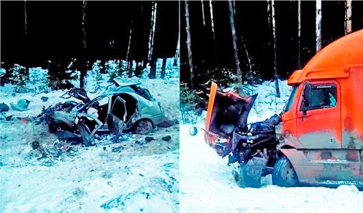 В страшной аварии в Пермском крае погиб житель Удмуртии