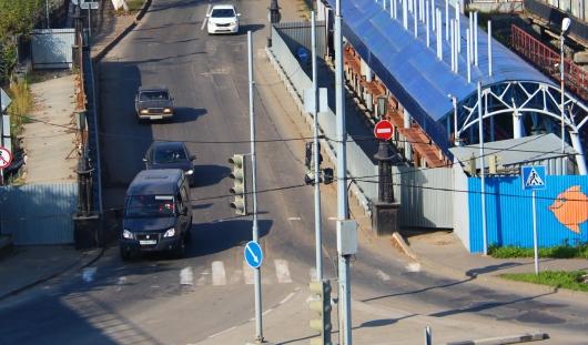 Главная дорога на улице Красногеройской в Ижевске изменила направление