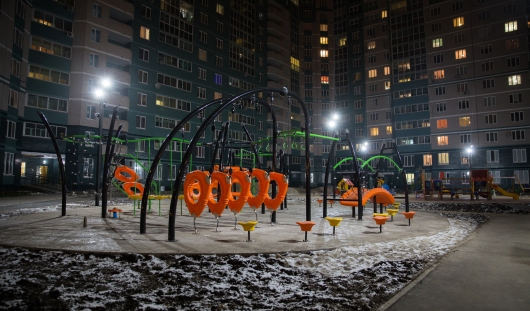 В Ижевске открыли детскую площадку нового поколения