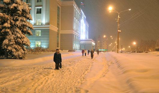 В Ижевске отключать уличные фонари будут с 2 ночи до 5 часов утра