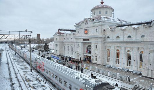 Дополнительные поезда пустят из Ижевска в новогодние праздники