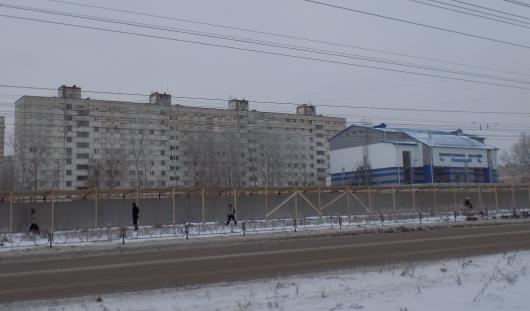Что строится на улице Ворошилова рядом с бассейном «Аквамарин» в Ижевске?