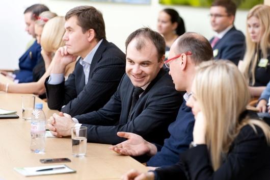 В Удмуртском отделении Сбербанка прошло первое заседание СЕО-клуба «Стратегия и лидерство»