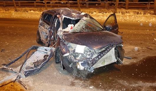В Ижевске погибшие в ДТП 3 декабря находились в тяжелом алкогольном отравлении