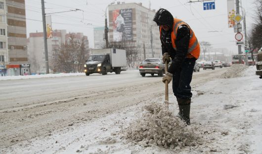 Снегопад в Ижевске: повторение транспортного коллапса Хабаровска?