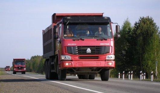 В России перегруженным самосвалам запретят ездить по федеральным трассам