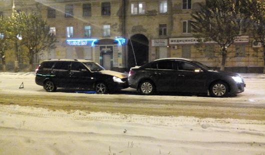 В Ижевске за прошедшие сутки произошло 138 аварий без пострадавших
