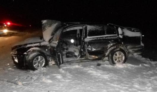 На трассе Ижевск - Глазов столкнулись три автомобиля