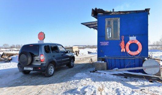 Строительство четырех ледовых переправ идет в Удмуртии