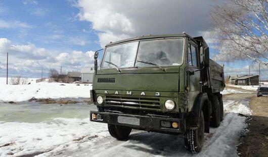 В Удмуртии спасли замерзающего на трассе водителя грузовика