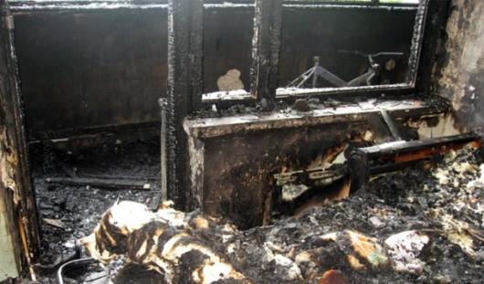 В Игре в сгоревшем доме обнаружили тело 30-летней девушки