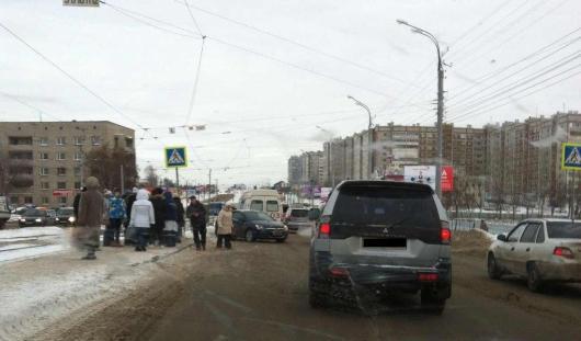 На улице Ленина в Ижевске сбили пешехода