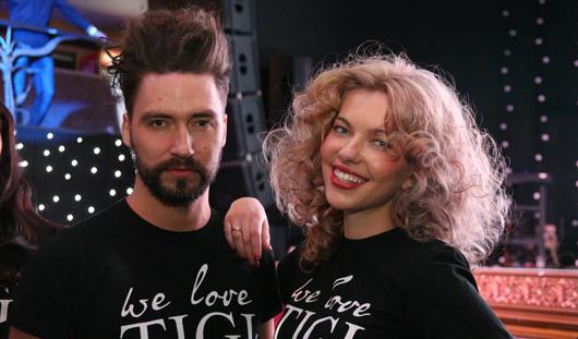 Модные тенденции для ижевчан от бренда TIGI: шерстяные косы и красно-фиолетовый цвет волос