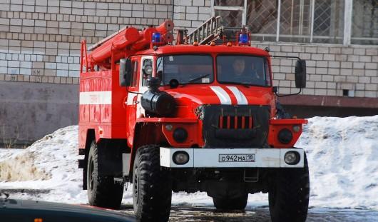 В 11:30 в Ижевске пройдут пожарные учения