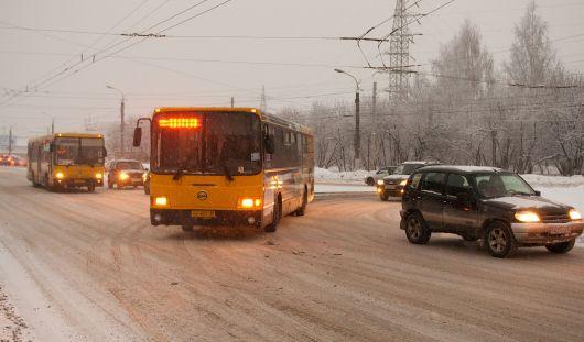Ижевские автобусы стало возможно отслеживать на картах в Интернете