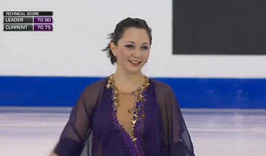Фигуристка из Удмуртии Елизавета Туктамышева победила в финале Гран-при