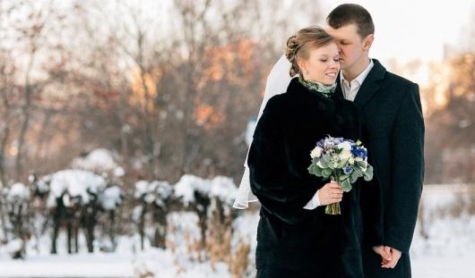 Ижевские молодожены: Первой поцеловала будущего мужа