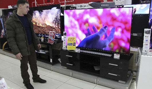Ижевчане скупают дорогие телевизоры и автомобили