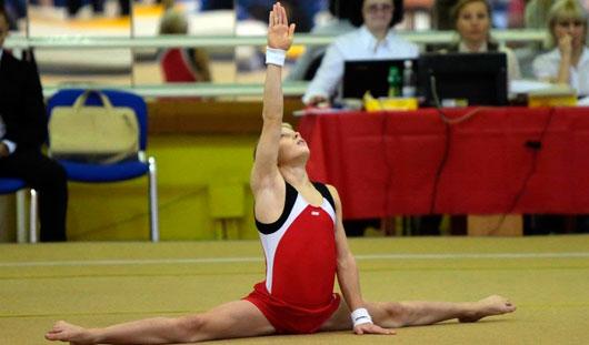 Гимнаст из Удмуртии Дмитрий Шушков вошел в состав юношеской сборной России
