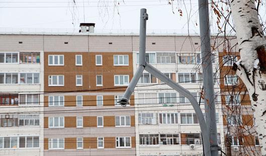 Светофор около Администрации Ижевска восстановили