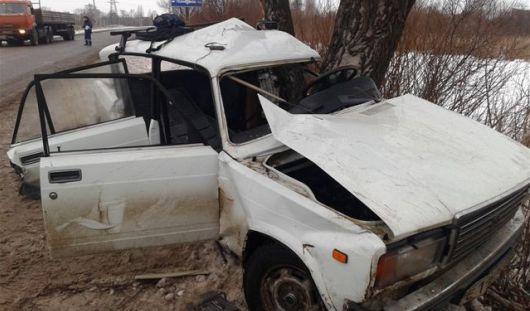В Удмуртии погиб водитель, не справившись с управлением