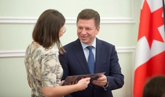 Стипендии Главы Удмуртии вручили лучшим студентам и аспирантам