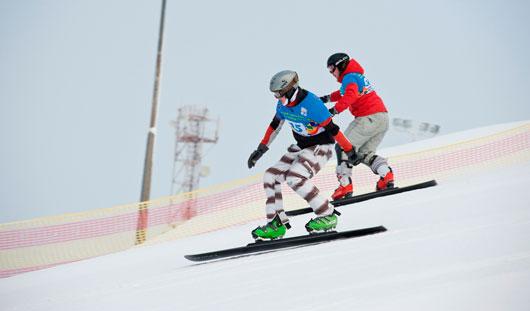 В Ижевске состоялся Кубок России по сноуборду