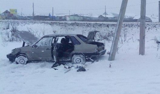 В Удмуртии женщина серьезно пострадала, не справившись с управлением авто