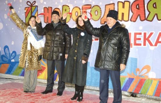 В Ижевске состоялось торжественное открытие Новогодней ярмарки