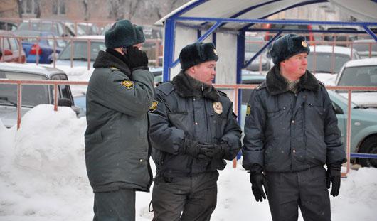 В новогоднюю ночь в Удмуртии охранять правопорядок будут 1200 полицейских