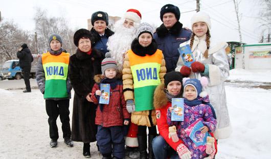 Госавтоинспекция республики поздравила ижевчан с наступающим Новым годом