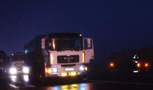 28 декабря фура сбила пешехода на трассе в Удмуртии