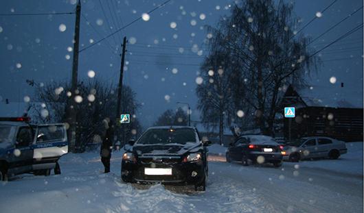 В Ижевске 29 декабря произошла 141 авария с материальным ущербом