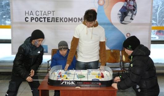 Спортивная акция «На старт с Ростелекомом» состоялась в Ижевске