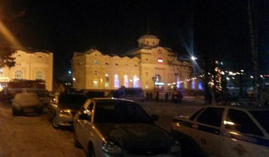 В Ижевске неизвестный сообщил о минировании железнодорожного вокзала