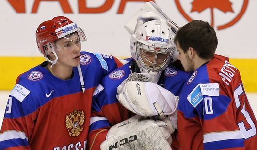Сборная России взяла «серебро» молодежного чемпионата мира по хоккею