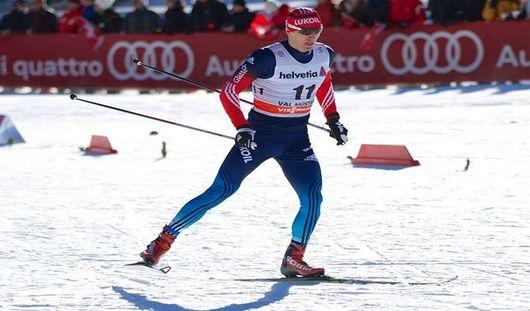 Удмуртский лыжник Максим Вылегжанин стал десятым в гонке преследования на Тур де Ски