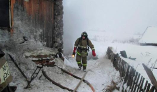 В Удмуртии во время пожара погибли два человека