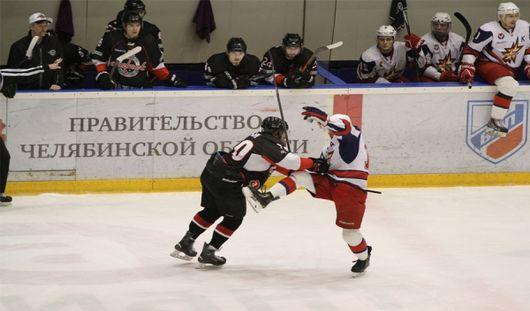 Вторую победу подряд одержали ижевские хоккеисты на выезде