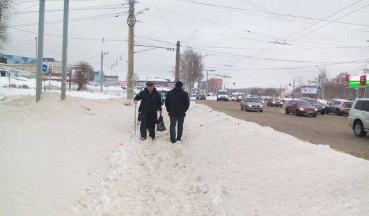 Непроходимые дороги и проверка не по плану: о чем утром говорят в Ижевске