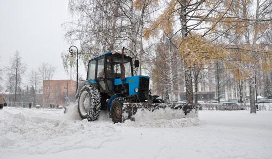 В России за плохую уборку снега предложили увольнять мэров городов