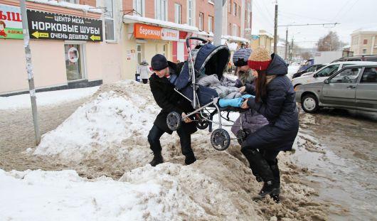 Как горожанам повлиять на очистку Ижевска от снега?