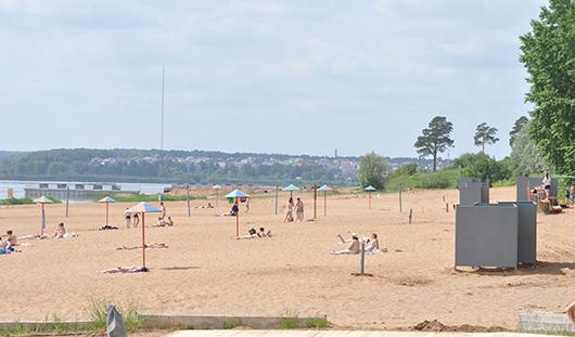 На ижевском пляже появится летний стадион