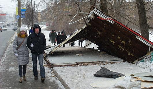 В Ижевске демонтируют 26 ларьков
