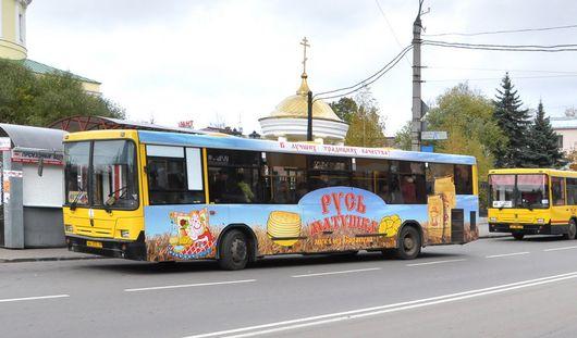 Есть вопрос: где и как клеят рекламу на общественный транспорт Ижевска